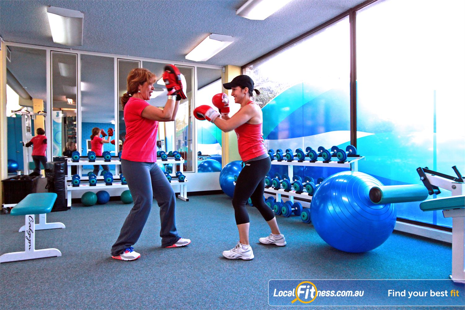 Fernwood Fitness Near Warwick Farm With Liverpool personal trainers you can lose weight fast with our energetic cardio boxing workouts.