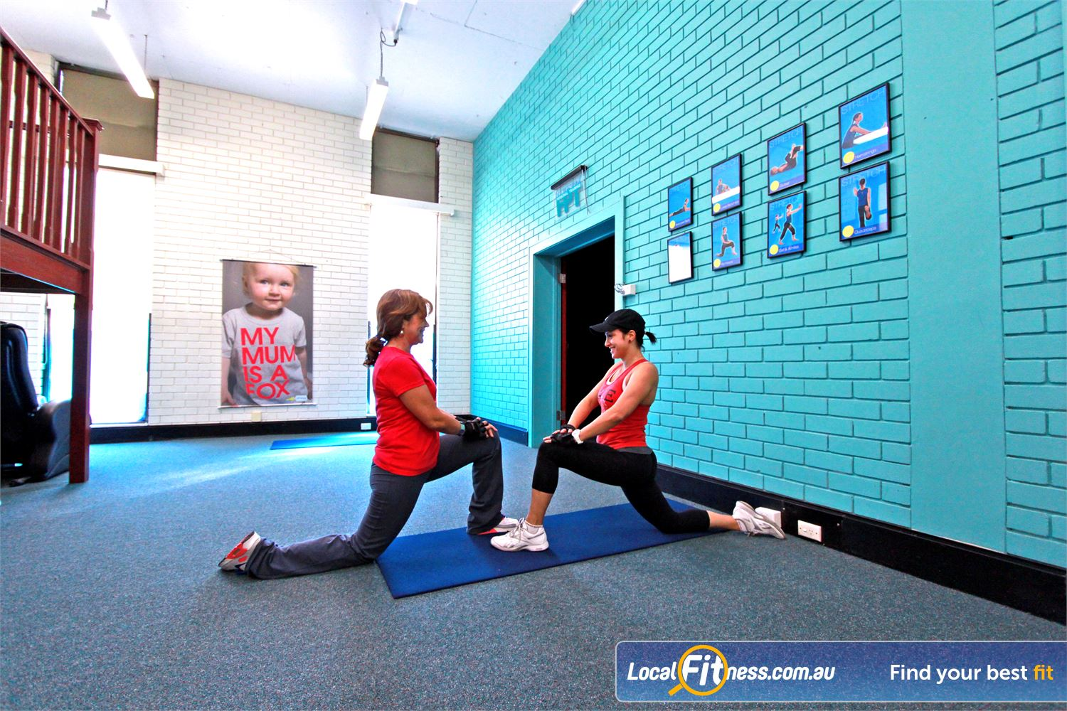 Fernwood Fitness Near Moorebank Fernwood Liverpool gym provides a dedicated abs and stretching area.