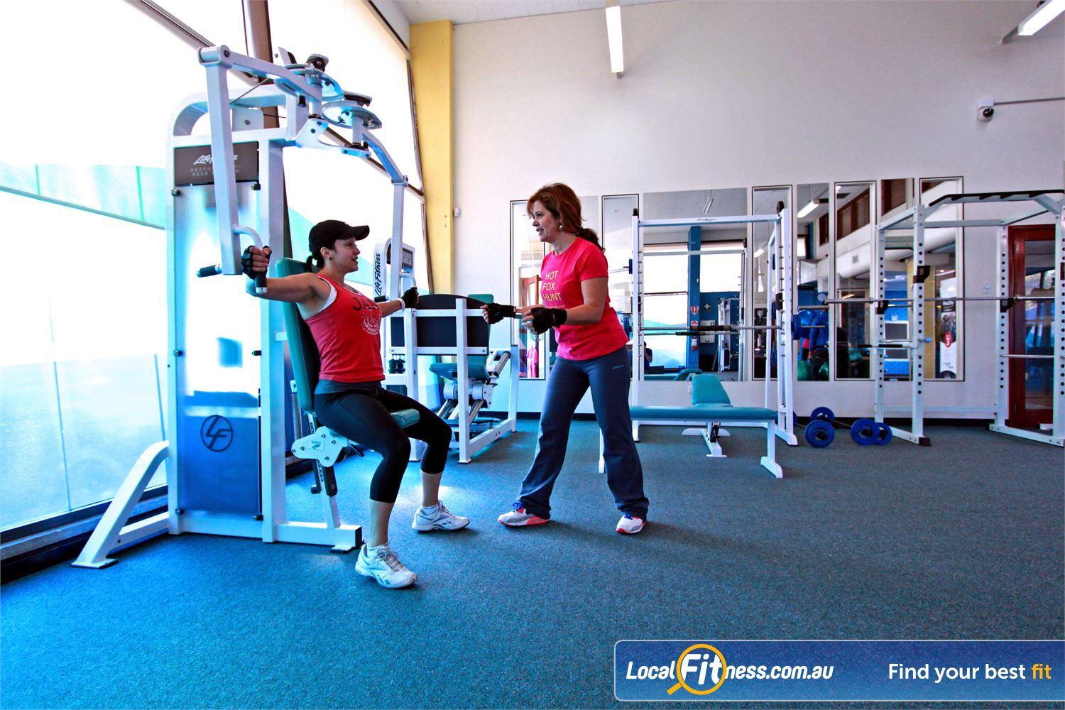 Fernwood Fitness Liverpool We have the right Liverpool gym equipment to help with women's weight loss and strength.