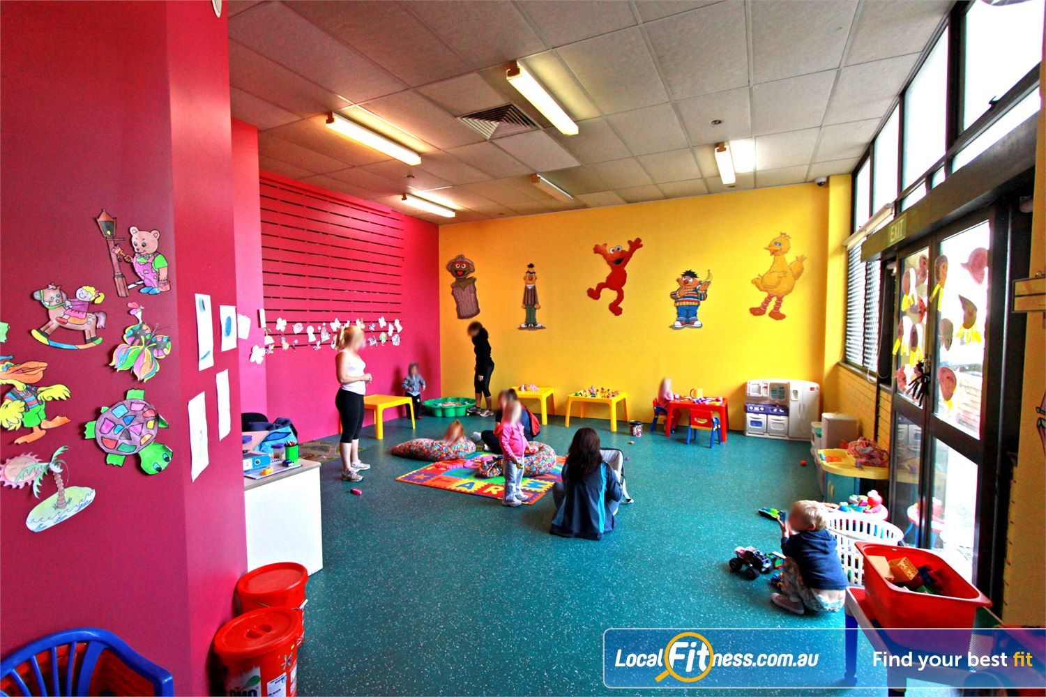 Fernwood Fitness Near Moorebank Fernwood Liverpool provides on-site child minding services.