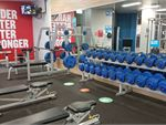 Dumbbells, benches, squat racks, plate-loading machines and more.
