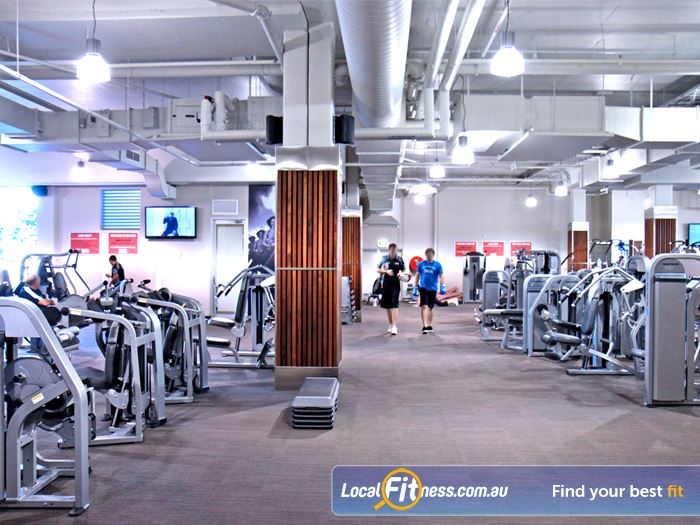 Goodlife Health Clubs Gym Mermaid Waters    Time-efficient workouts with the Nautilus Expressway.