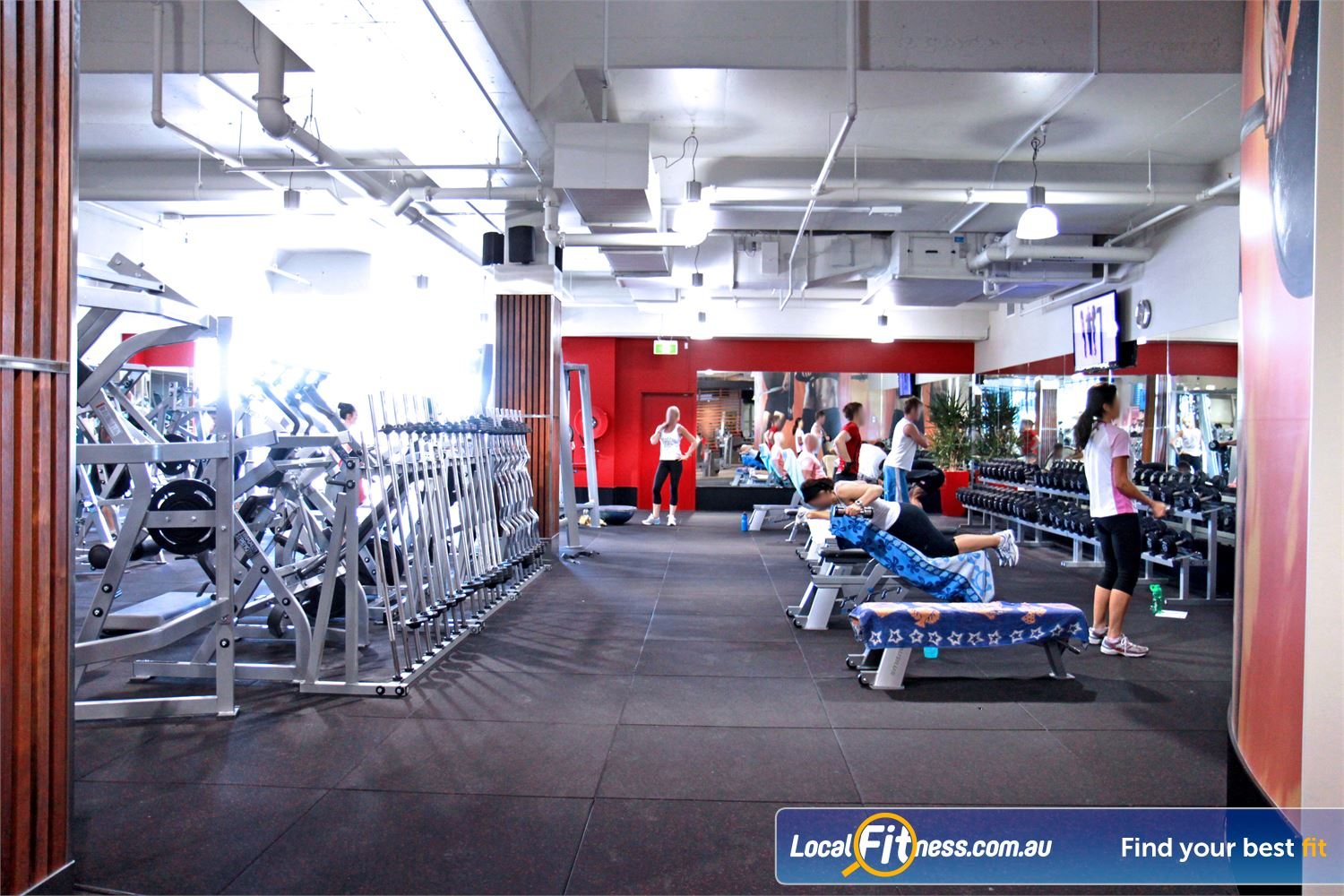 Goodlife Health Clubs Robina Our Robina gym offers a complete range of free-weights and plate loading equipment.<br /><br />