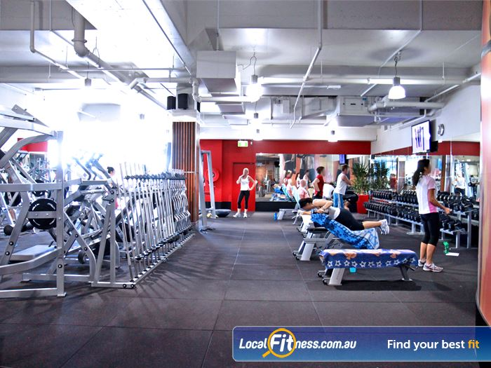 Goodlife Health Clubs Gym Worongary  | Our Gobina gym offers a complete range of