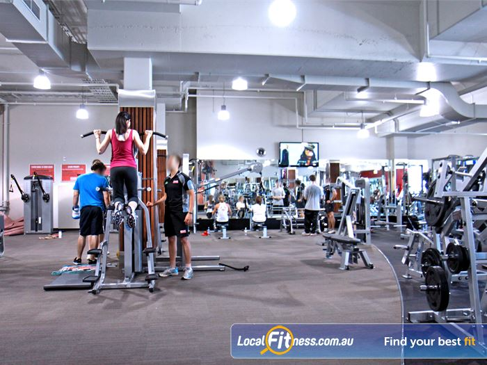 Goodlife Health Clubs Gym Robina  | A wide range of strength equipment from Nautilus