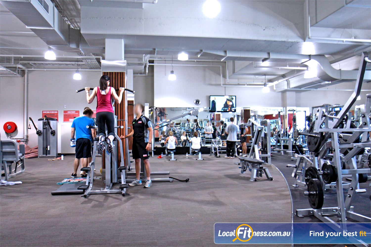 Goodlife Health Clubs Near Robina Town Centre Our Robina gym includes state of the art equipment. <br /><br /><br />