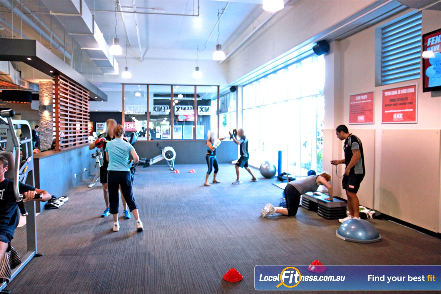 Goodlife Health Clubs Near Varsity Lakes A spacious and dedicated area for Robina personal training.
