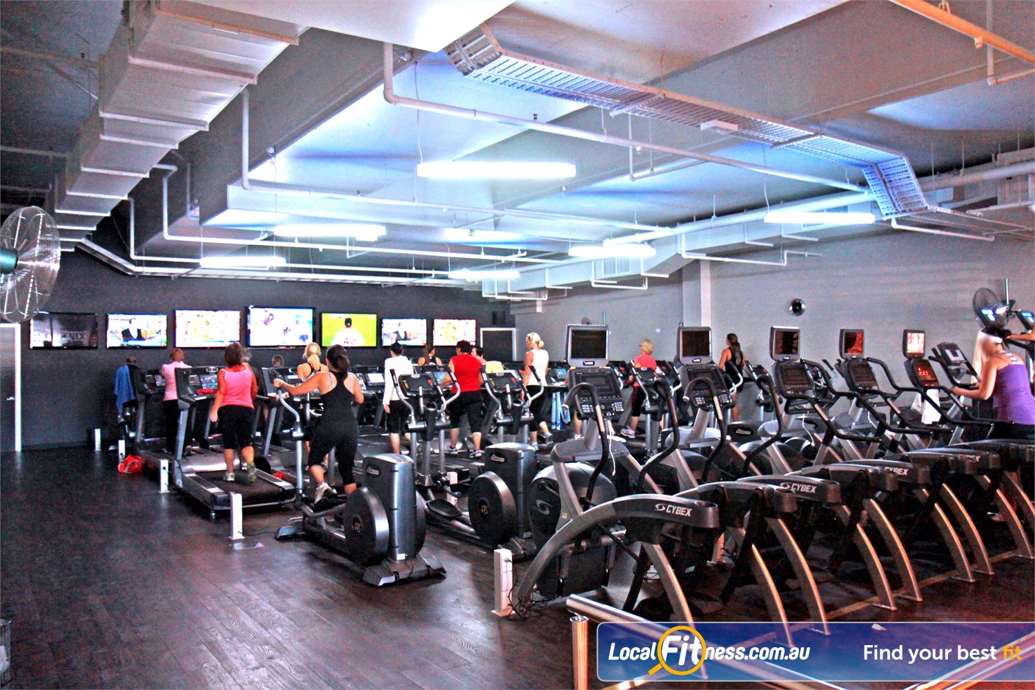 Goodlife Health Clubs Near Reedy Creek Rows of equipment means you'll never have to wait again in Robina.<br />