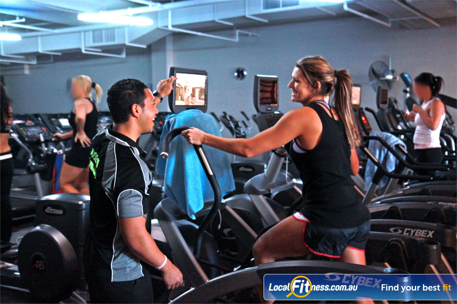 Goodlife Health Clubs Robina Our Robina gym team can tailor a cardio workout to suit you.