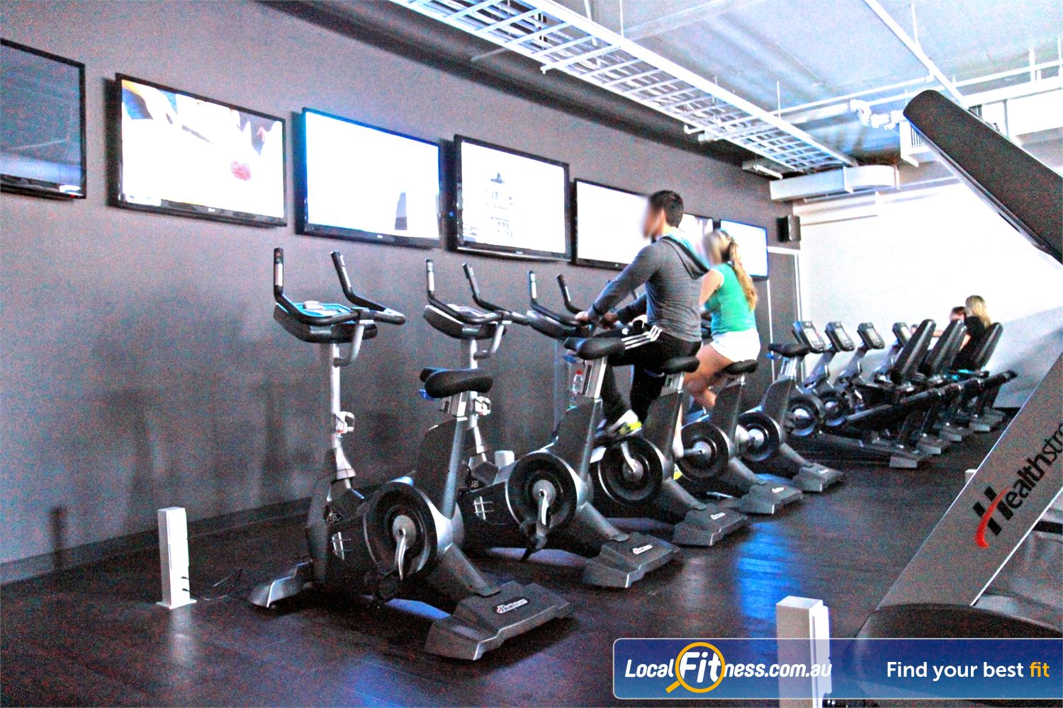 Goodlife Health Clubs Robina The fully equipped cardio are at Goodlife Robina gym.