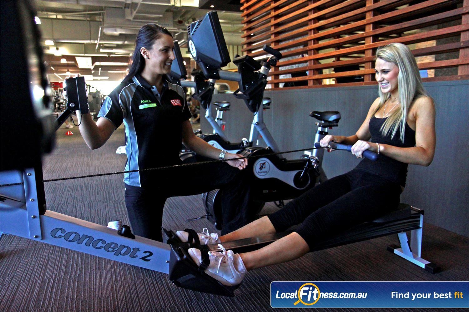Goodlife Health Clubs Near Robina Town Centre Vary your workout with our range of cardio including indoor rowing.