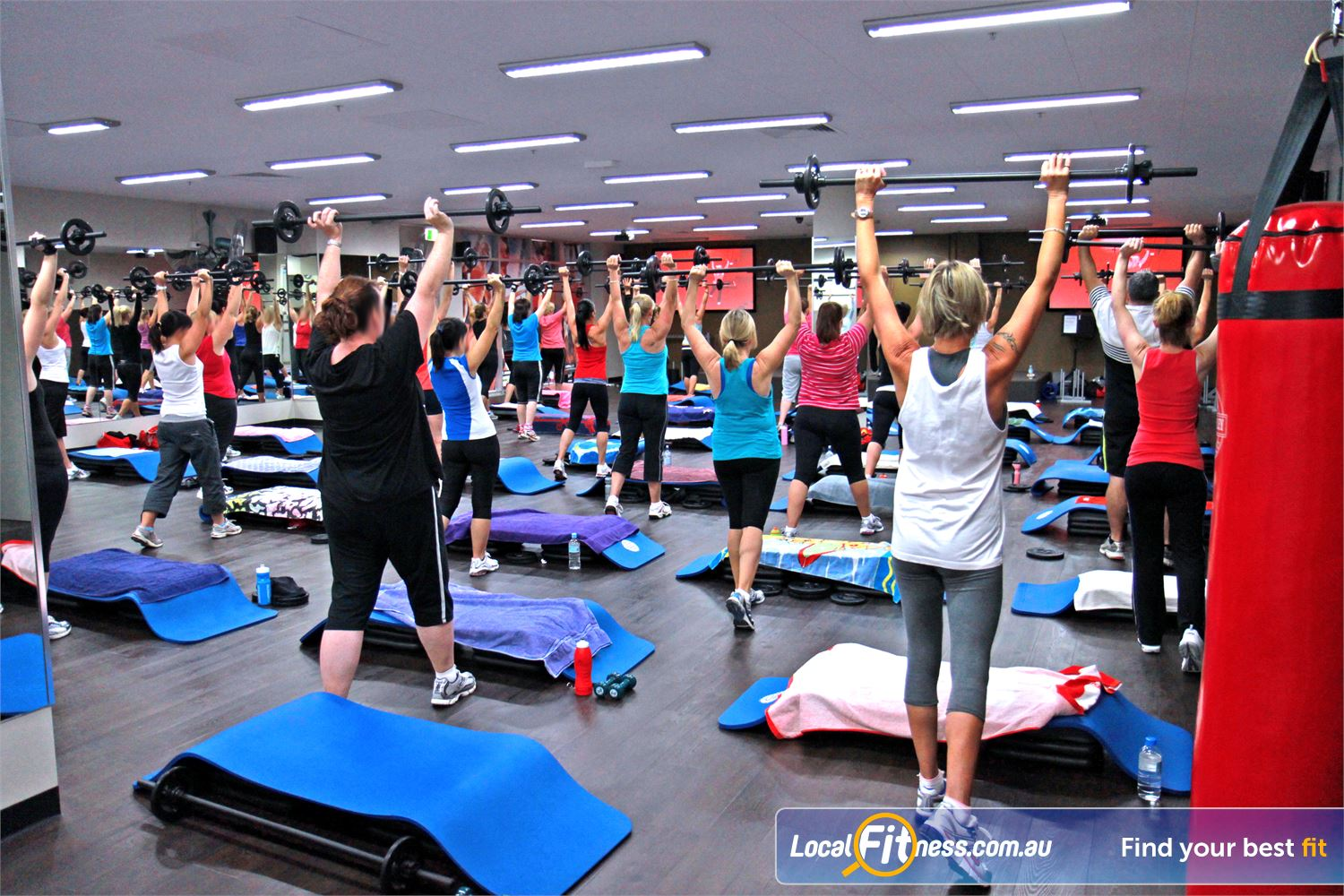 Goodlife Health Clubs Near Robina Town Centre A full range of classes inc. Robina Yoga, Les Mills, HIIT and more.
