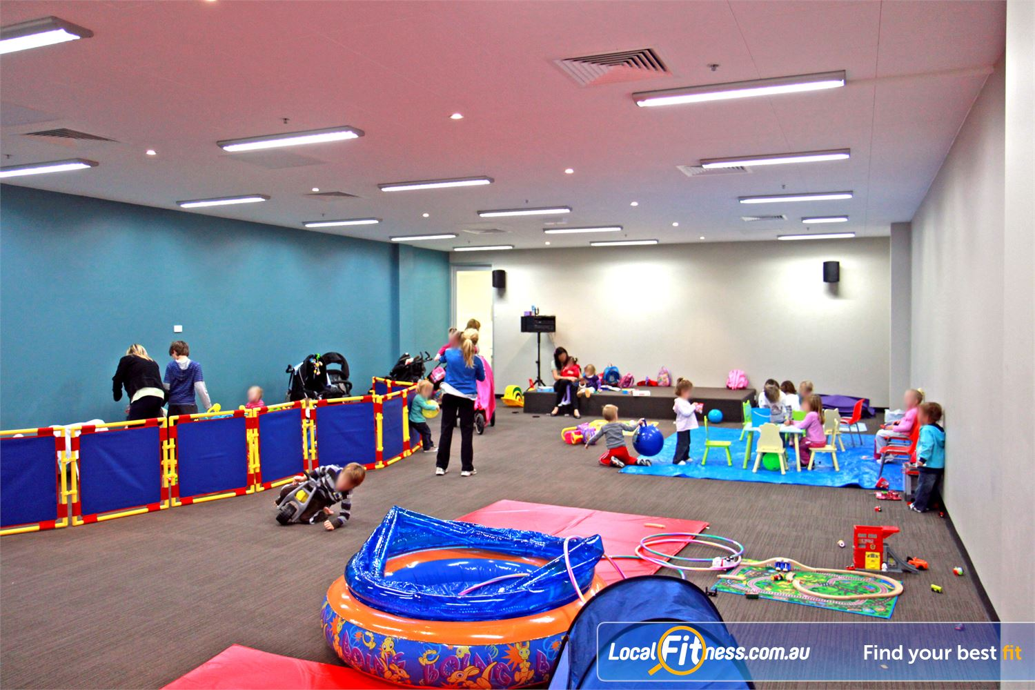 Goodlife Health Clubs Near Reedy Creek Life is busy, so Goodlife Robina provides a play area for your children.