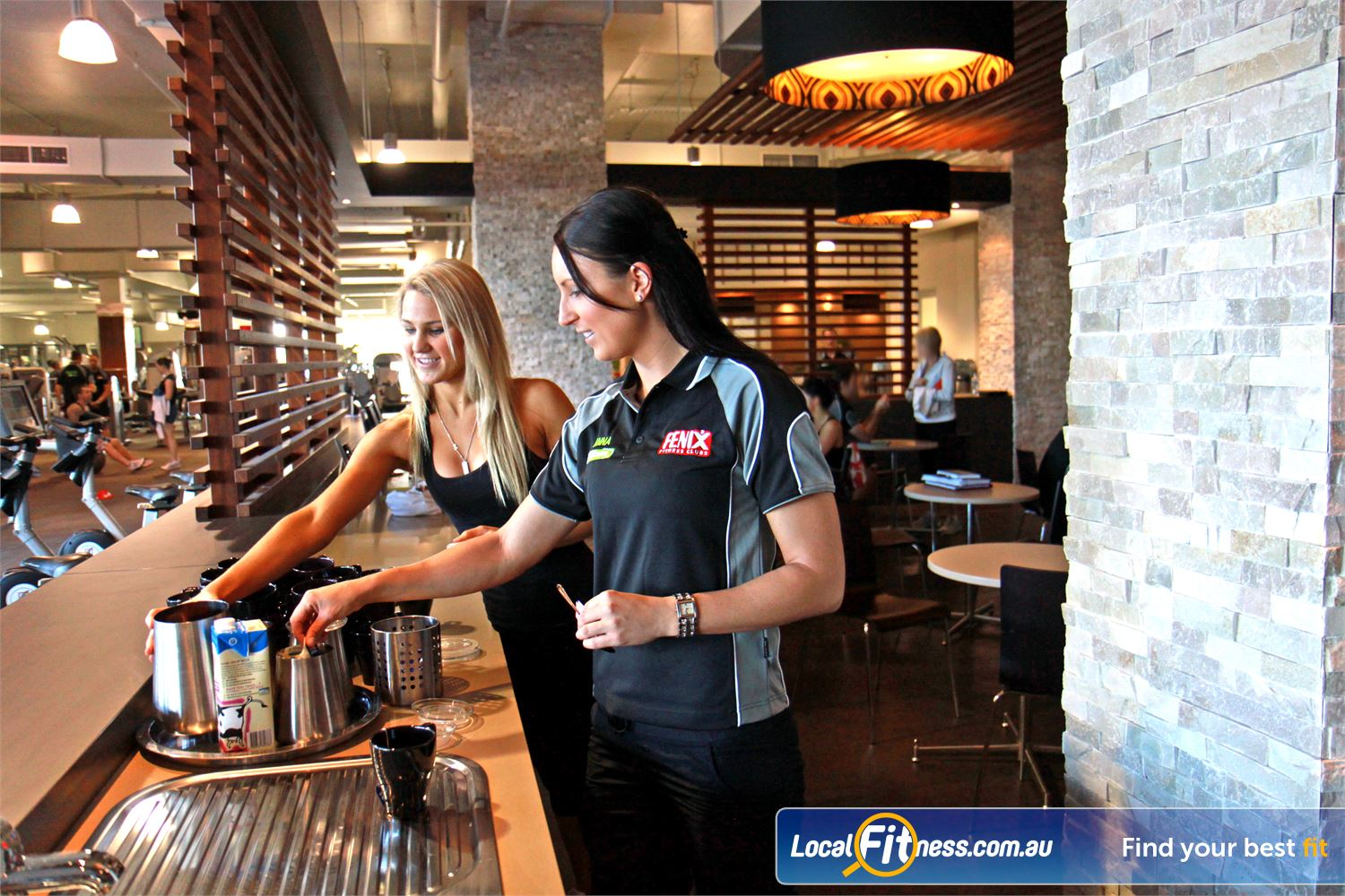 Goodlife Health Clubs Robina Complimentary tea, coffee and breakfast for our valued Robina members.