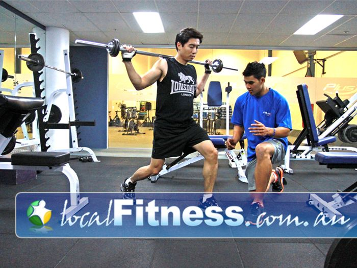Plus Fitness Health Clubs Sydney CBD Kent Street Gym Balgowlah    Our Sydney gym includes a range of free-weights