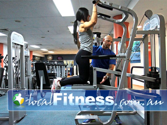 Plus Fitness Health Clubs Sydney CBD Kent Street Gym Waterloo  | Full range of easy to use strength training