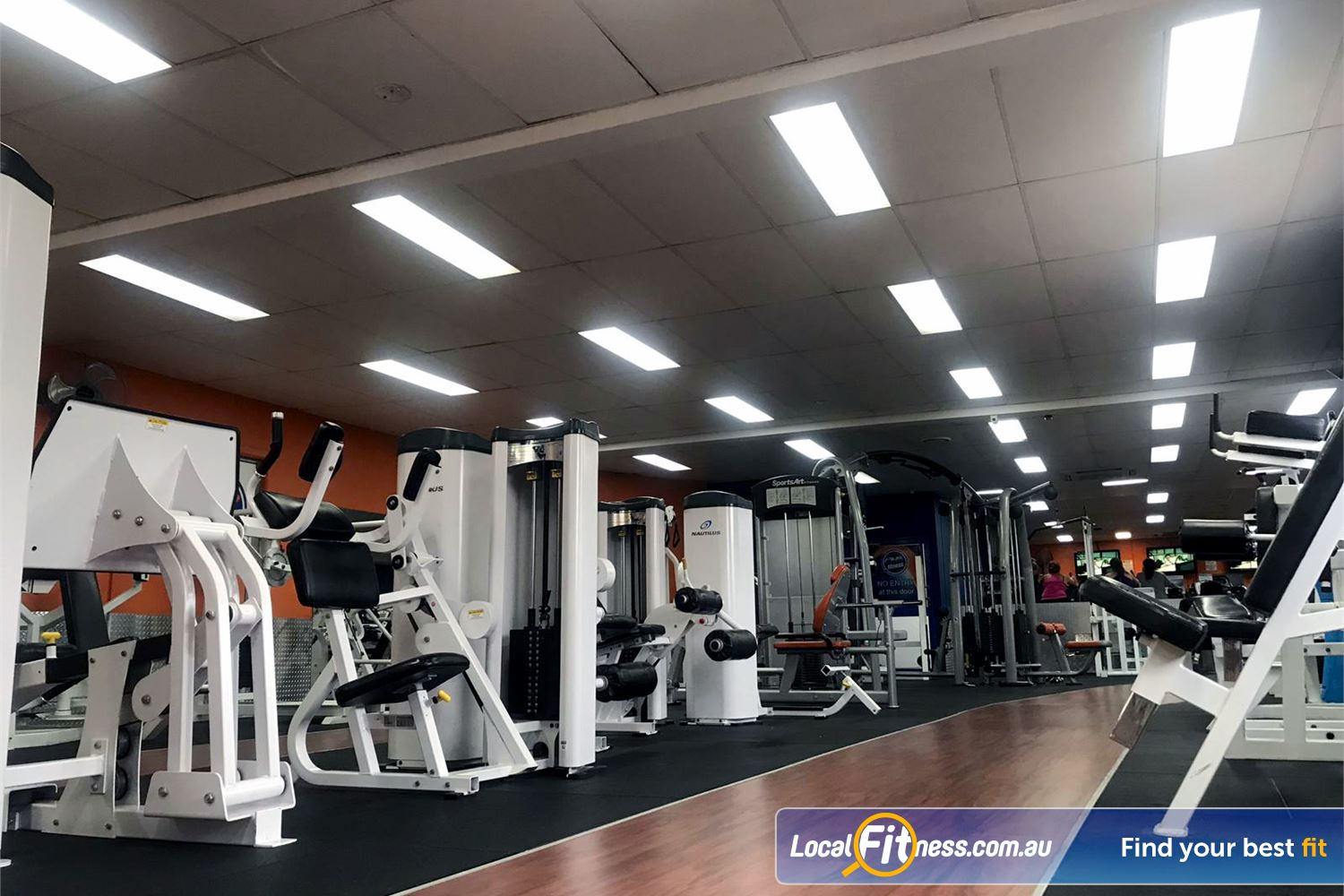 Plus Fitness Health Clubs Northmead Our Northmead gym includes rows of easy to use pin-loading equipment.