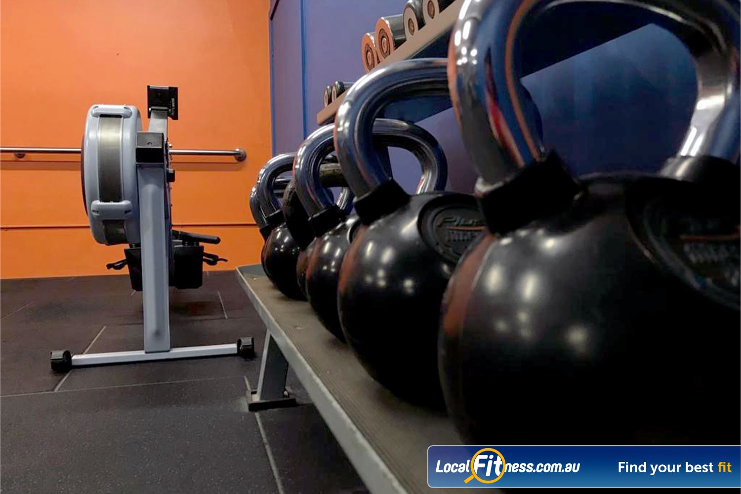 Plus Fitness Health Clubs Near Winston Hills Get into functional training with kettlebells and indoor rowing.