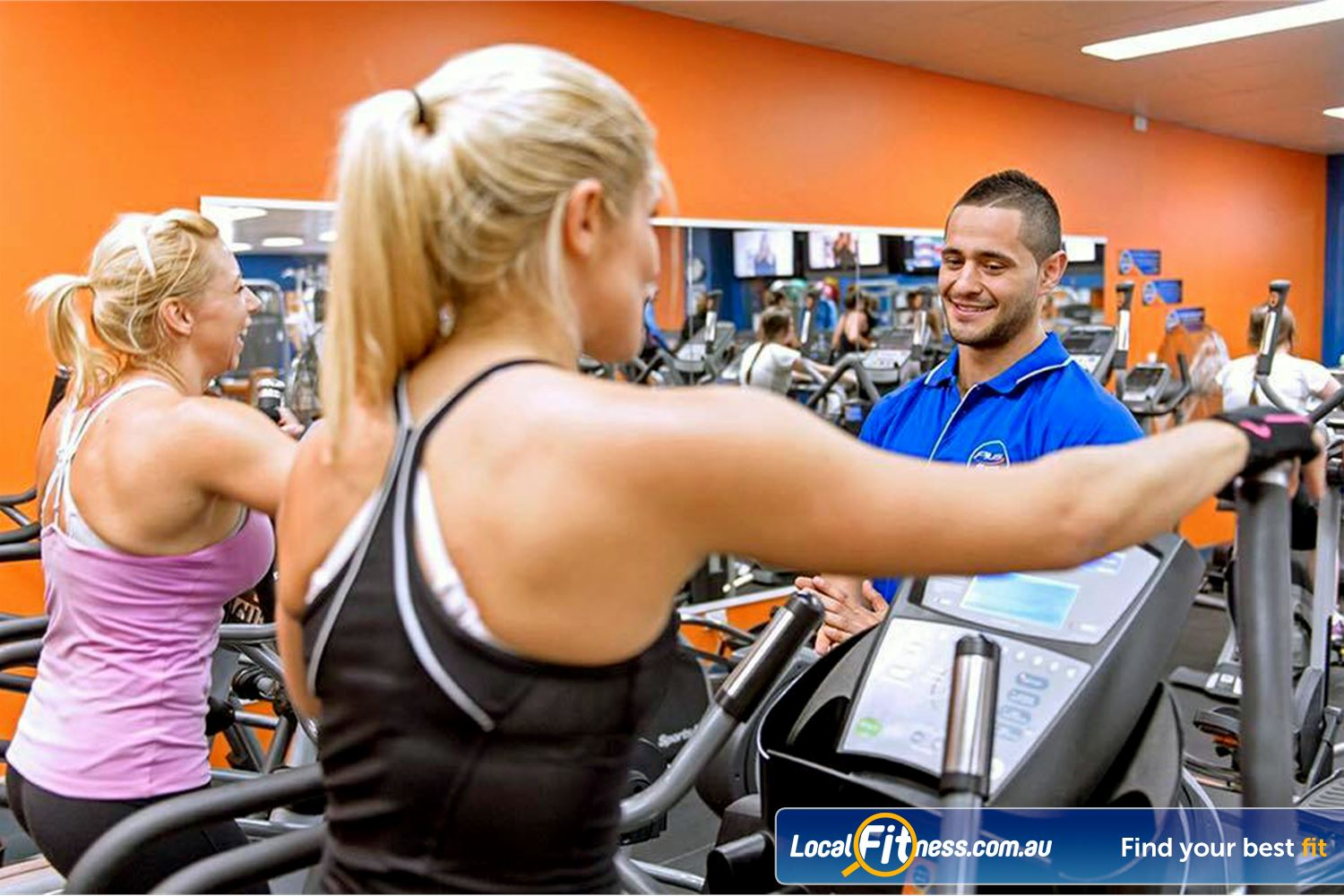 Plus Fitness Health Clubs Near Merrylands Our Northmead gym team can design a cardio workout to suit you.