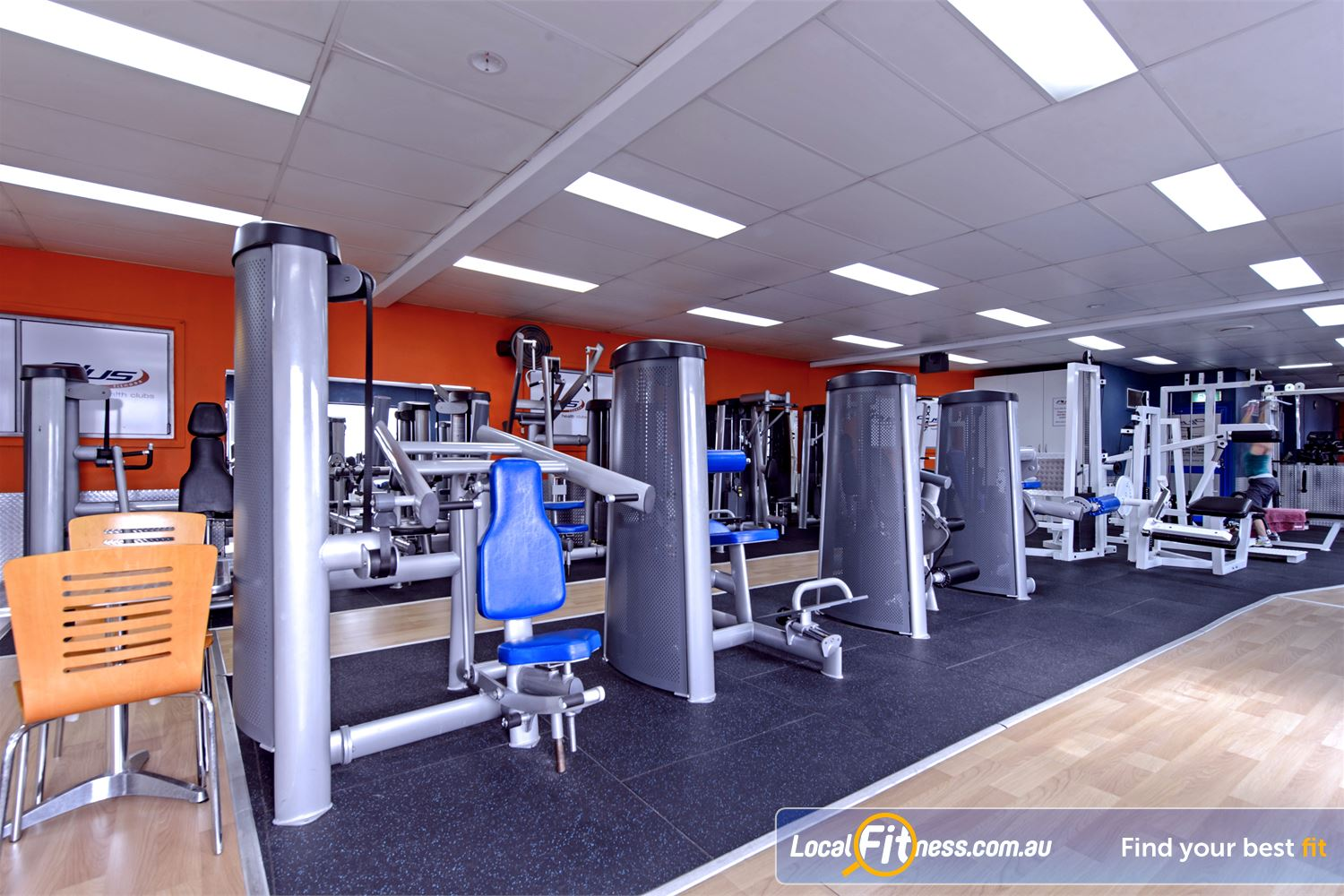 Plus Fitness Health Clubs Near Baulkham Hills Our Northmead gym includes pin-loading machines for every muscle group.