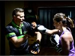 Expert Kew boxing trainers will be there every