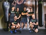 Our 12 Round Kew gym team - ready