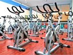 Fitness Central Notting Hill Gym Fitness Spinning room with modern