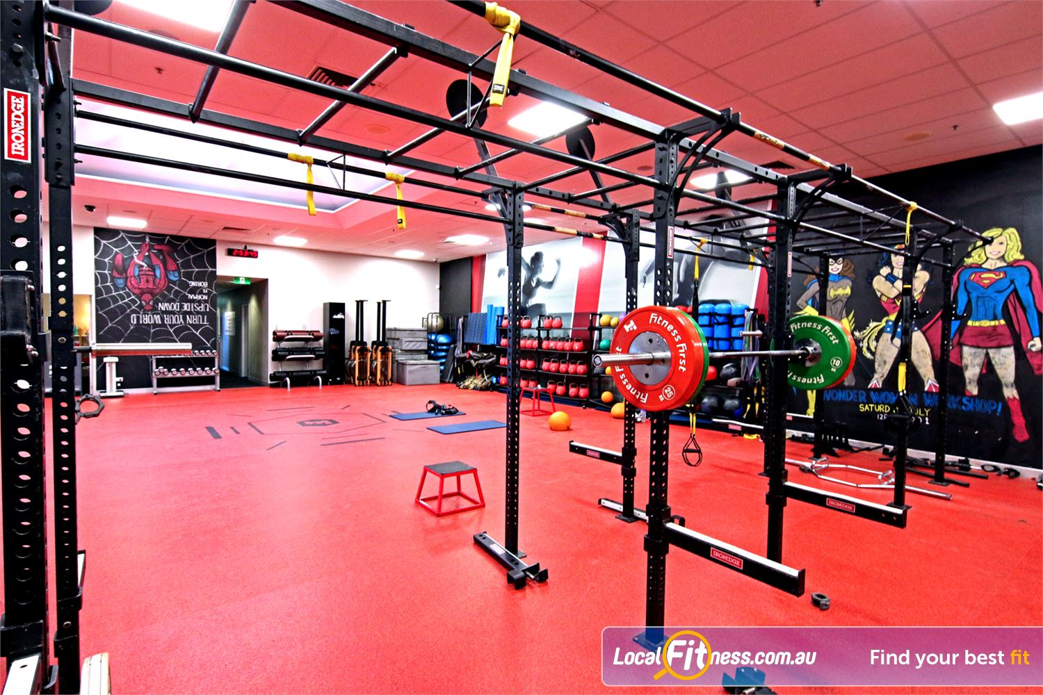 5de079366f84f Fitness First Toowong Innovative equipment perfect for freestyle and  functional training.