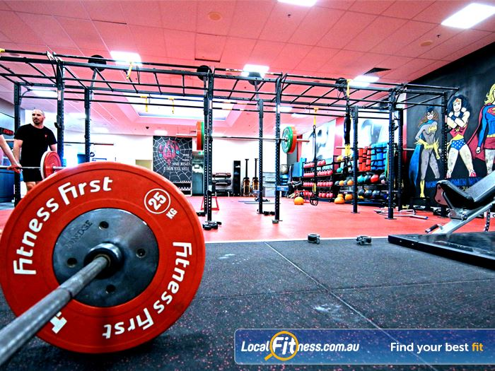 Fitness First HIIT Brisbane  | The spacious area in our functional freestyle area.