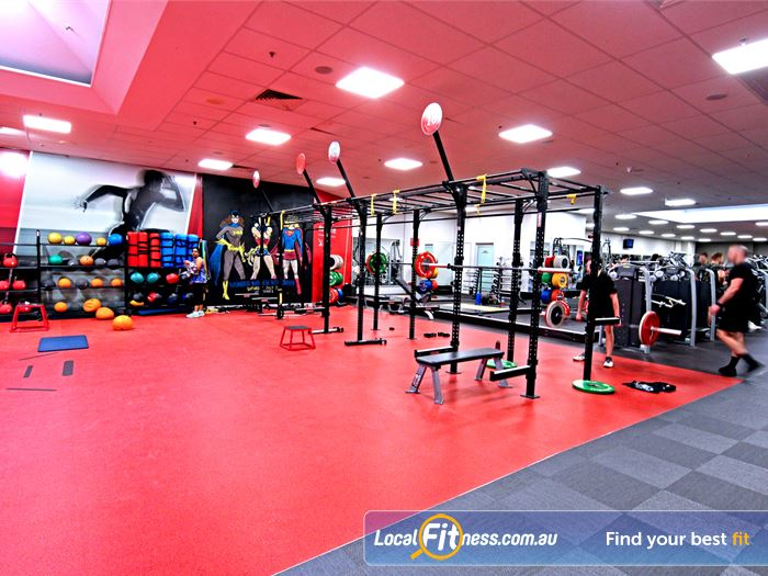 Fitness First HIIT Brisbane  | Our Toowong gym includes a functional training rig.