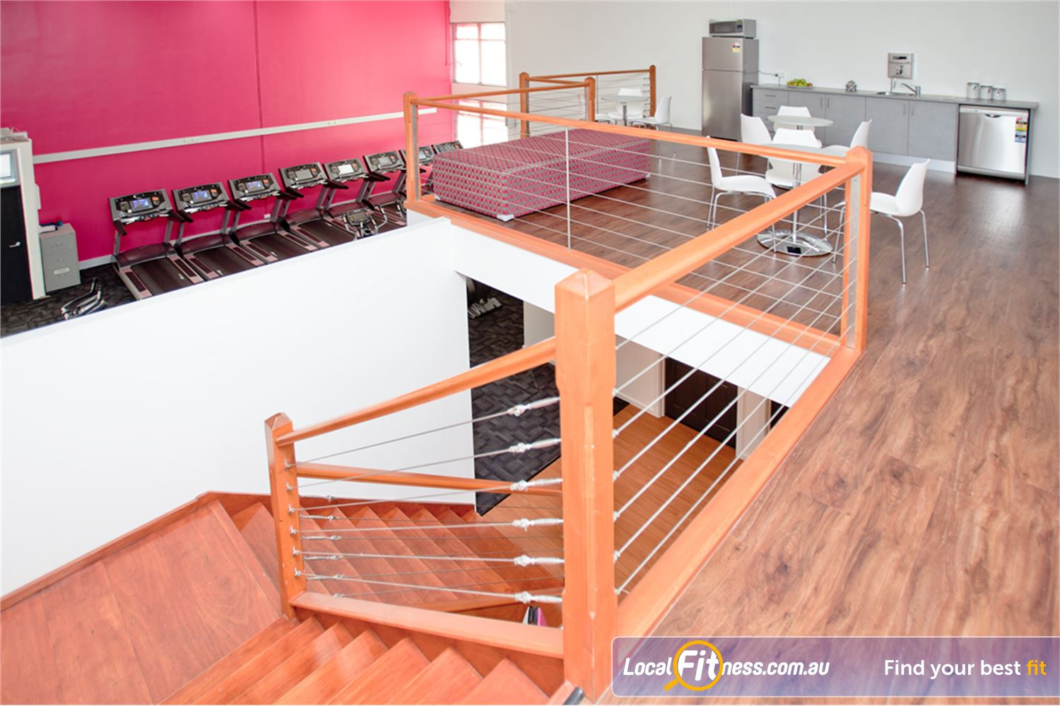 Fernwood Fitness Near Spotswood The spacious Yarraville womens24 hour gym.