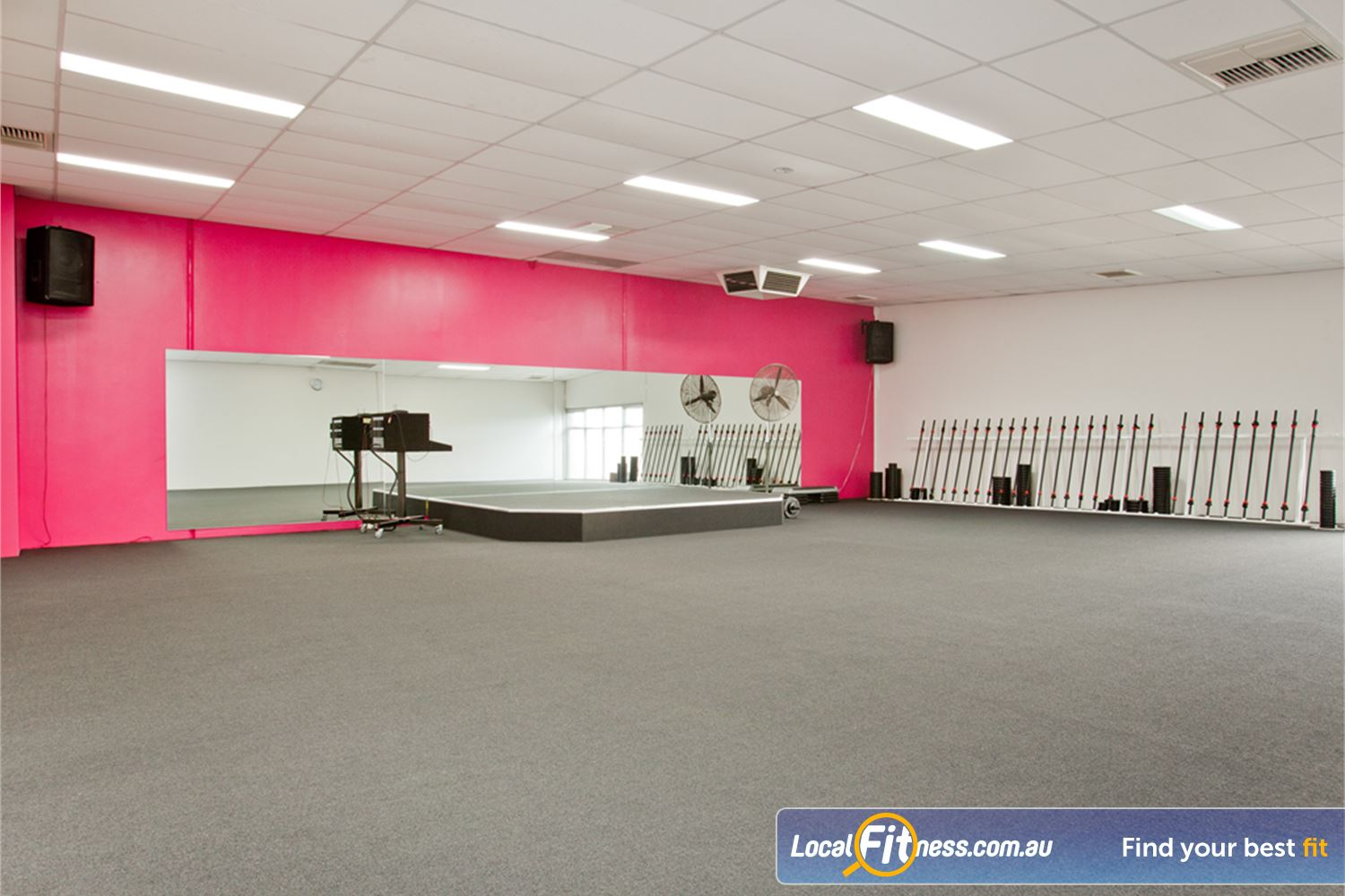 Fernwood Fitness Yarraville Popular group classes including Yarraville Pilates and Zumba.