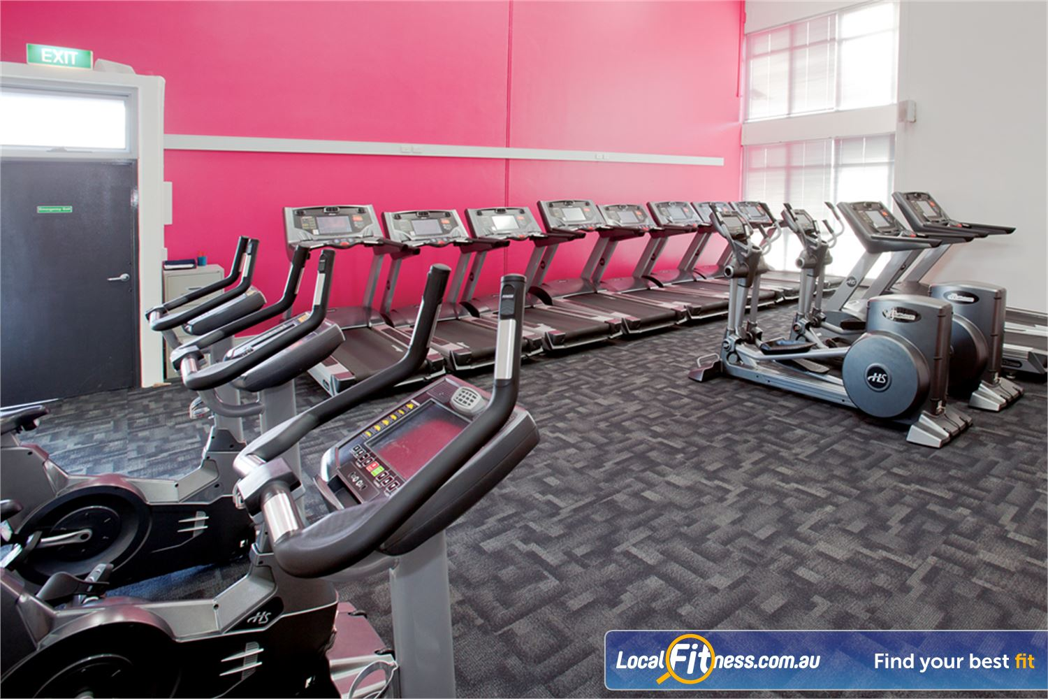 Fernwood Fitness Near Spotswood Our HUGE range of cardio includes state of the art treadmills, cross trainers and more.