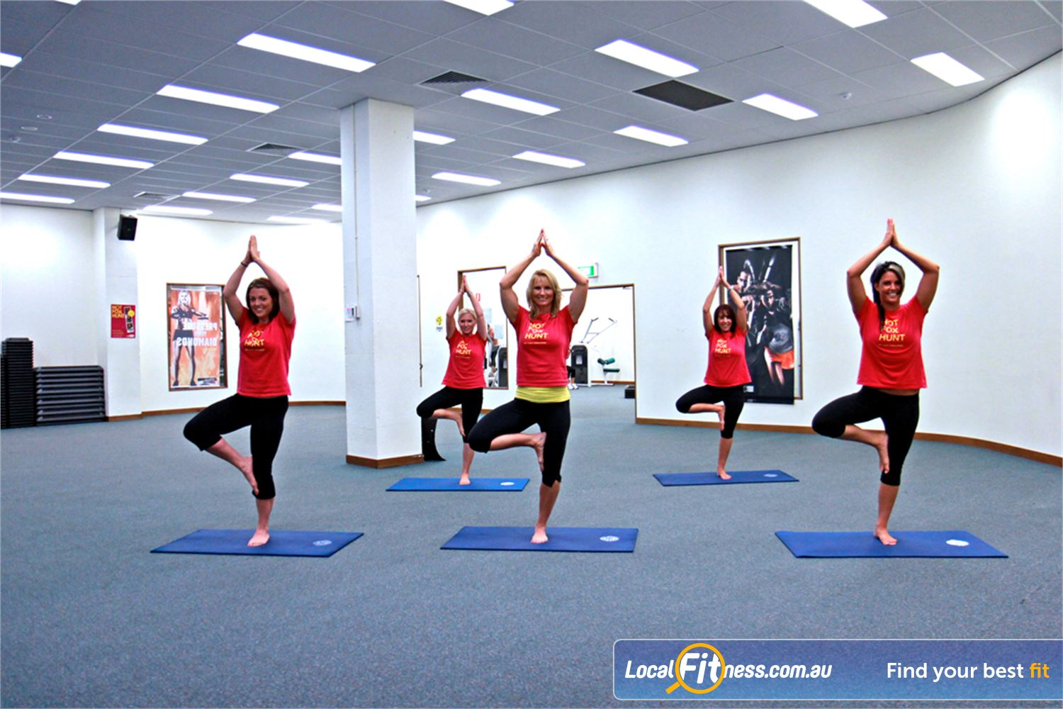 Fernwood Fitness Near South Kingsville Enjoy classes including Yarraville Yoga and Pilates.