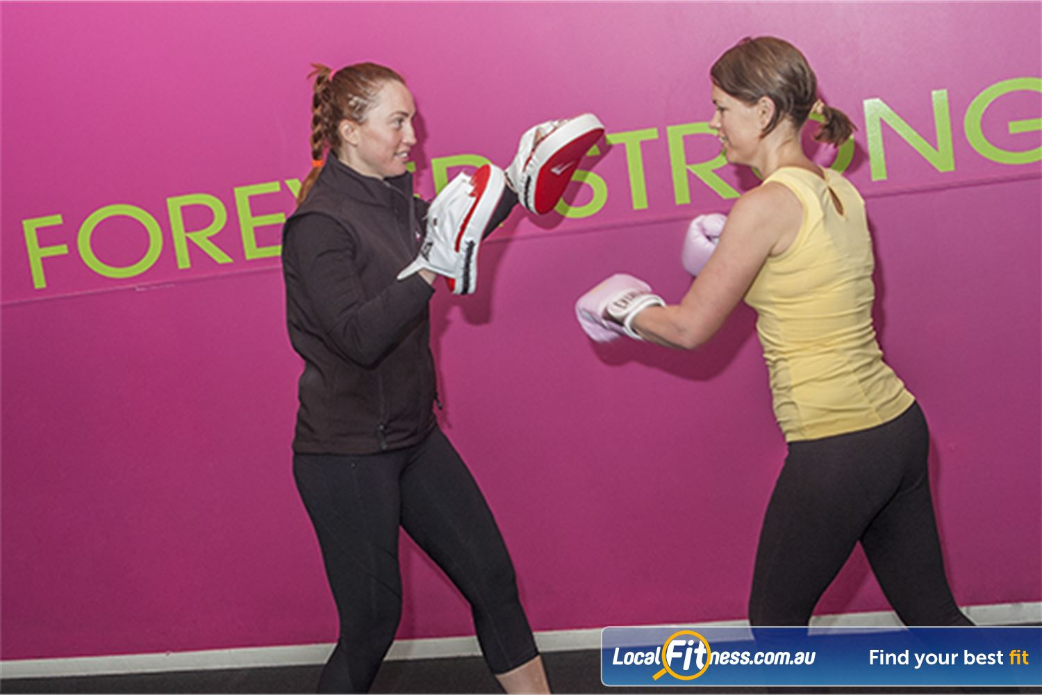 Fernwood Fitness Yarraville Yarraville personal trainers can incorporate boxing into your routine.