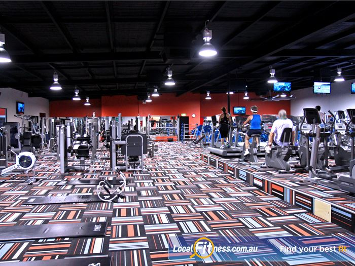 Goodlife Health Clubs Gym Cottesloe    Goodlife Bibra lake gym features a warm and