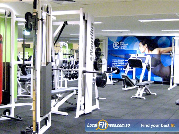 The Toorak Health Club Toorak Gym Fitness The clean and open Toorak gym.