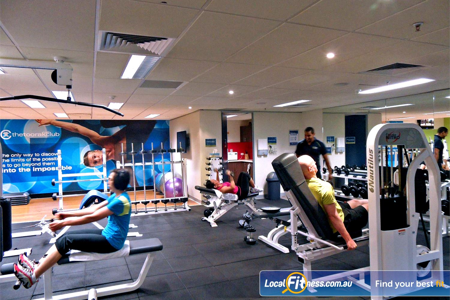 The Toorak Health Club Toorak Our Toorak gym provides everything you need for your health.