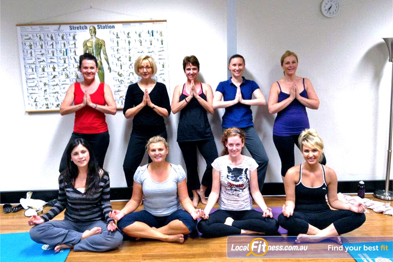 The Toorak Health Club Near Kooyong Join our Toorak Yoga claases and be part of the family.