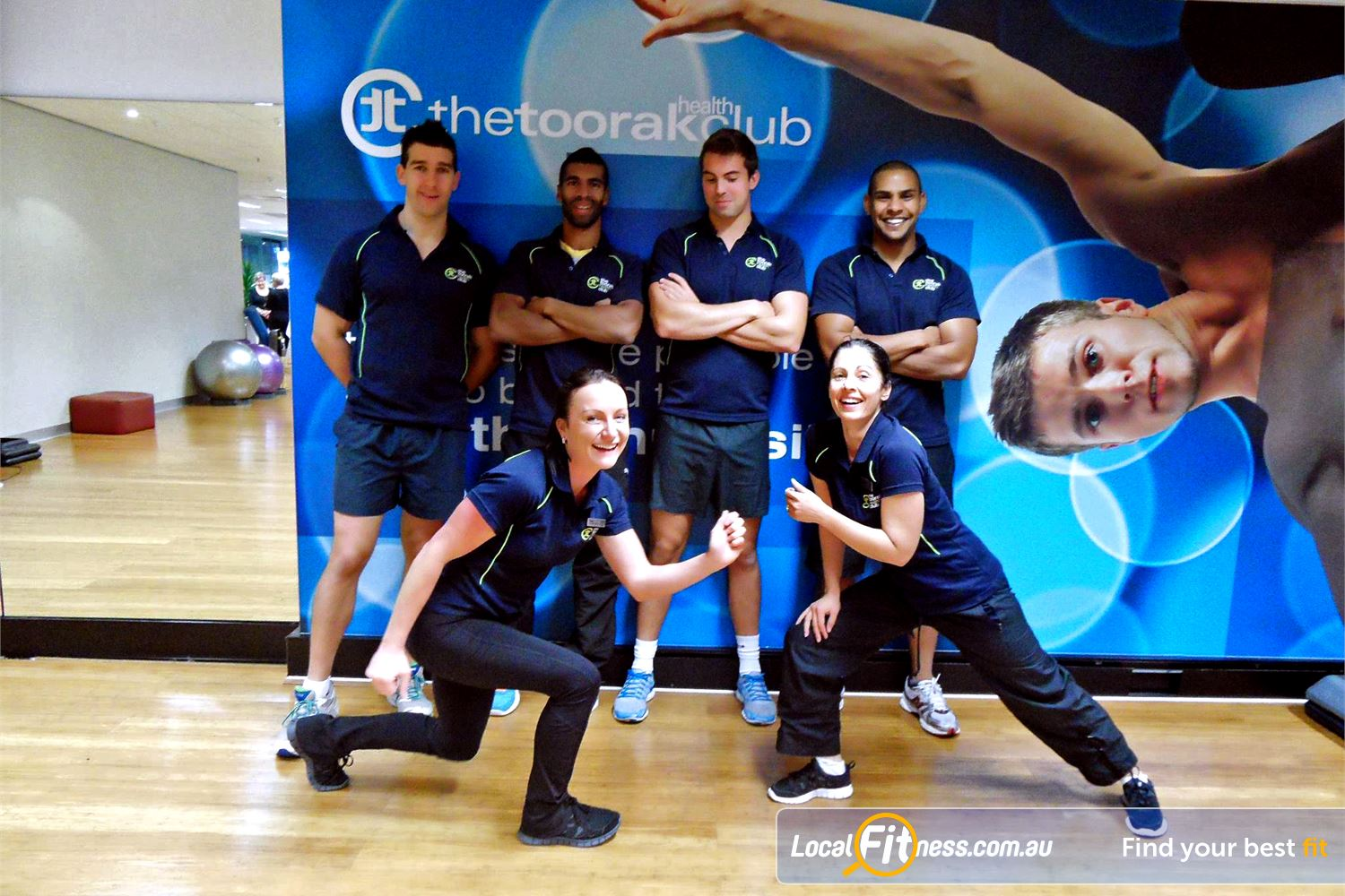 The Toorak Health Club Toorak Our experienced staff are ready to help you reach your fitness goals.