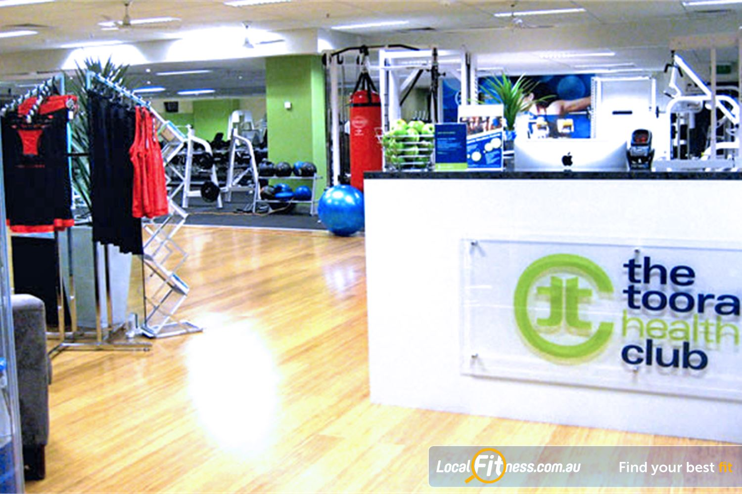 The Toorak Health Club Near Malvern Our friendly team will greet you every time you come in.