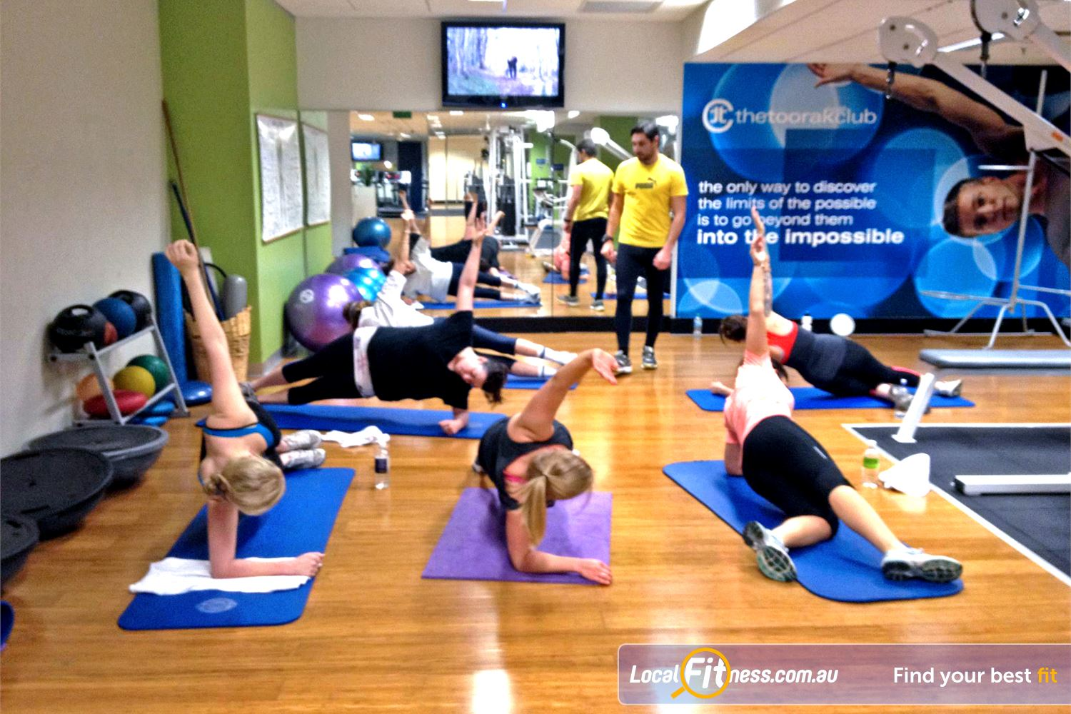 The Toorak Health Club Near Malvern Small personalised Toorak group fitness classes.