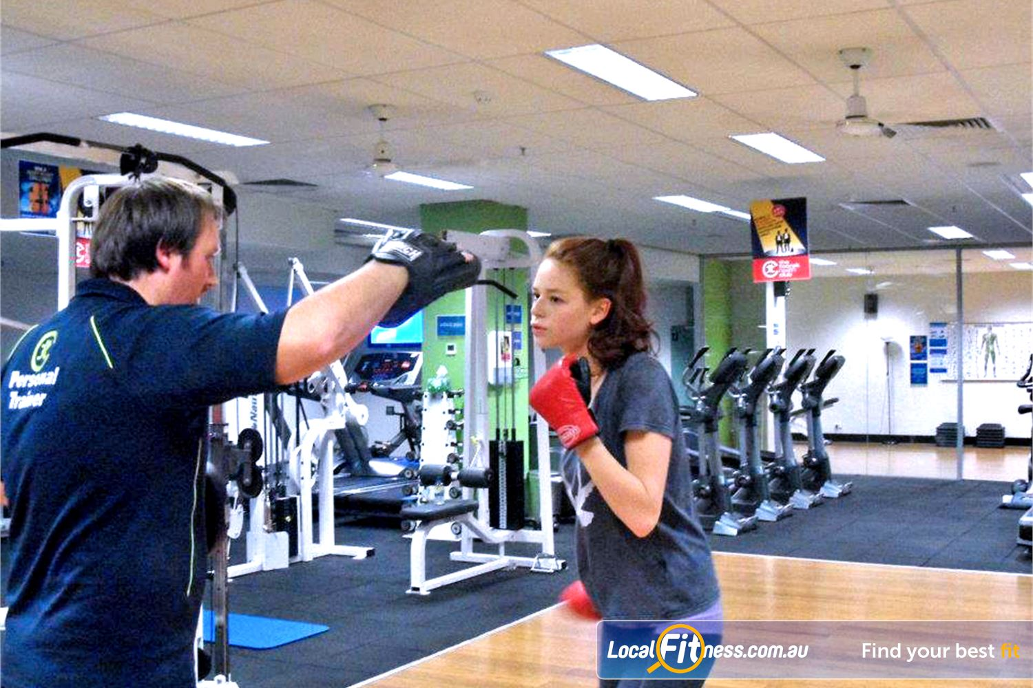 The Toorak Health Club Toorak Toorak personal trainers can incorporate boxing into your routine.