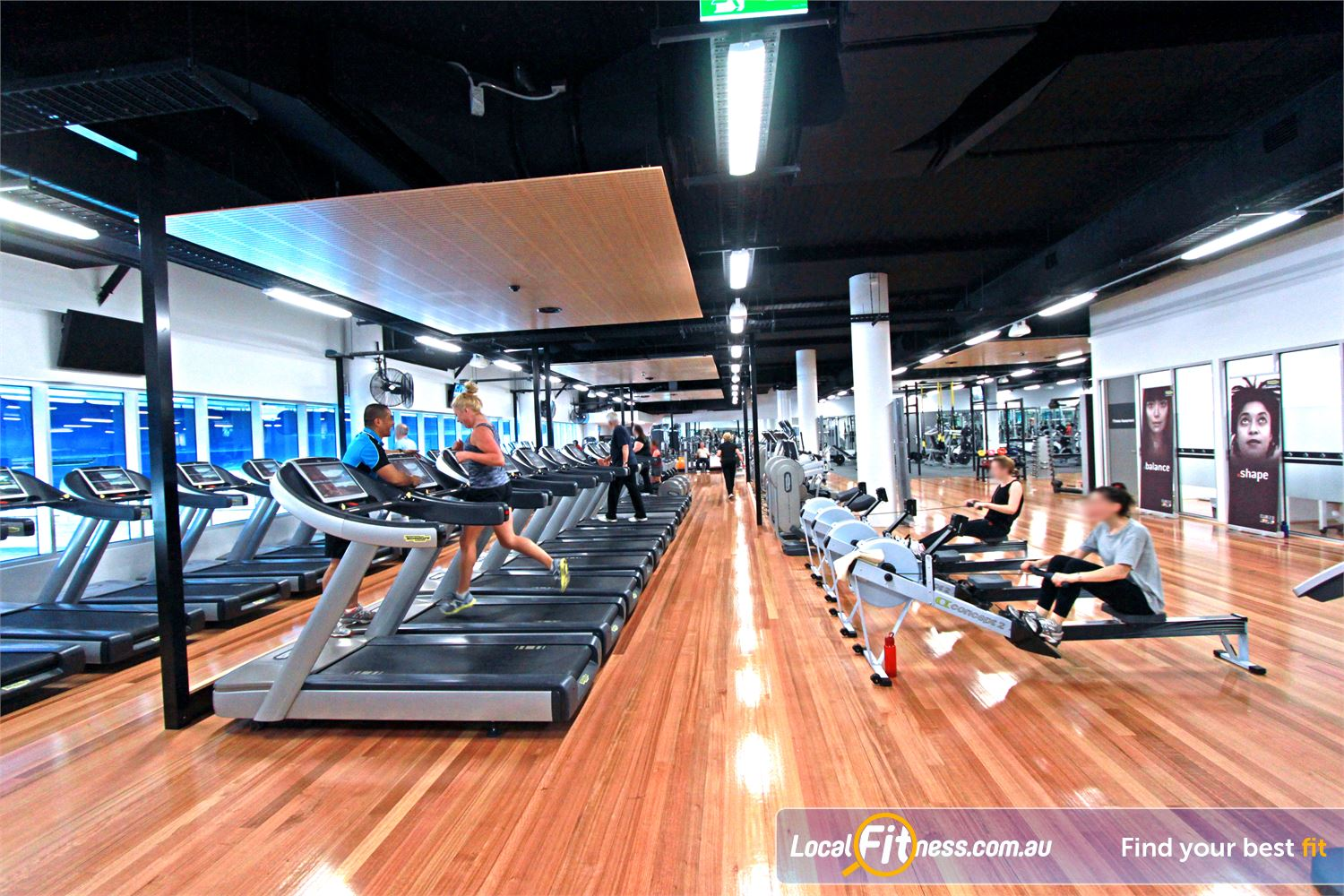 WaterMarc Aquatic & Leisure Centre Near Eltham North The 850 sq/m Greensborough gym inc. treadmills, cycle bikes, cross-trainers and more.