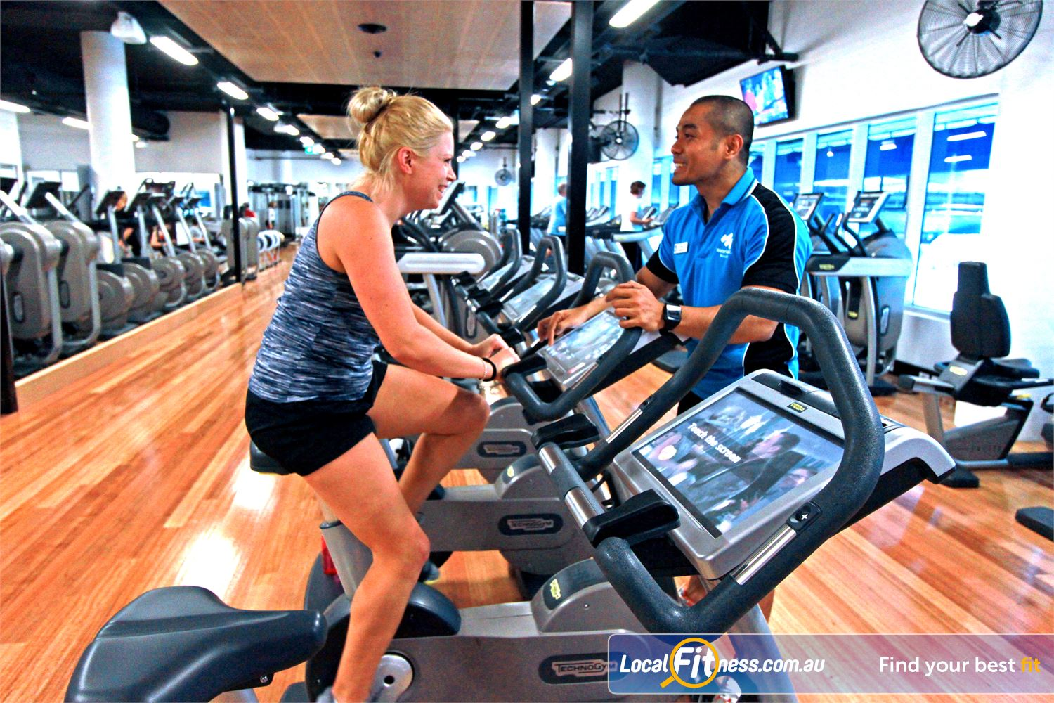 WaterMarc Aquatic & Leisure Centre Greensborough Greensborough gym instructors can tailor a cardio program to suit you.