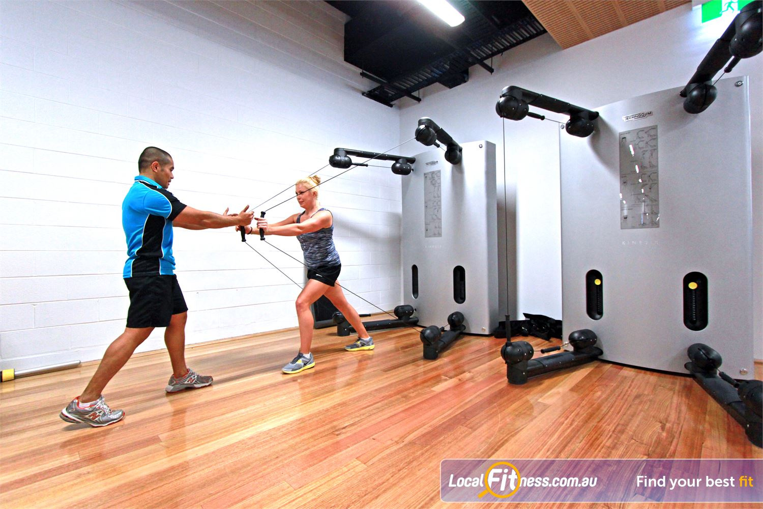 WaterMarc Aquatic & Leisure Centre Near Eltham North State of the art Technogym Kinesis One.