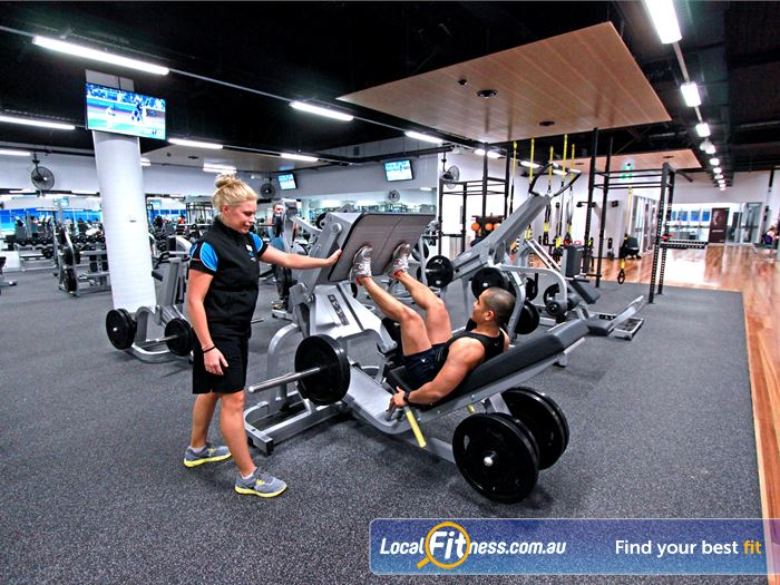WaterMarc Aquatic & Leisure Centre Greensborough Our Greensborough gym inc. a fully equipped free-weights area.