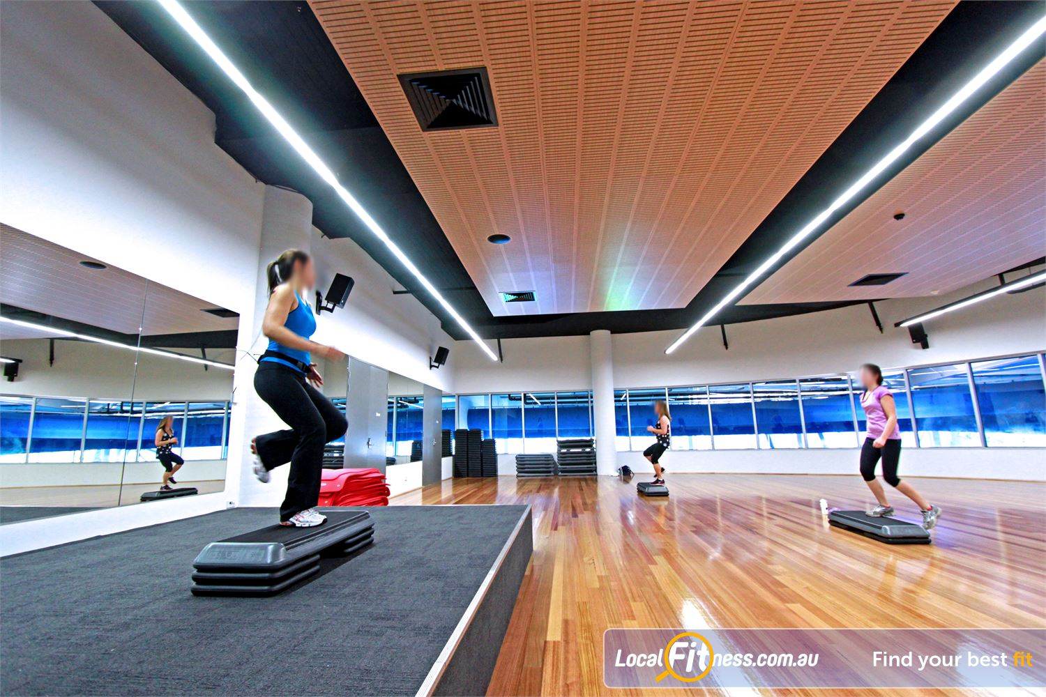 WaterMarc Aquatic & Leisure Centre Near Eltham North Popular classes inc. Les Mills and Greensborough Zumba.