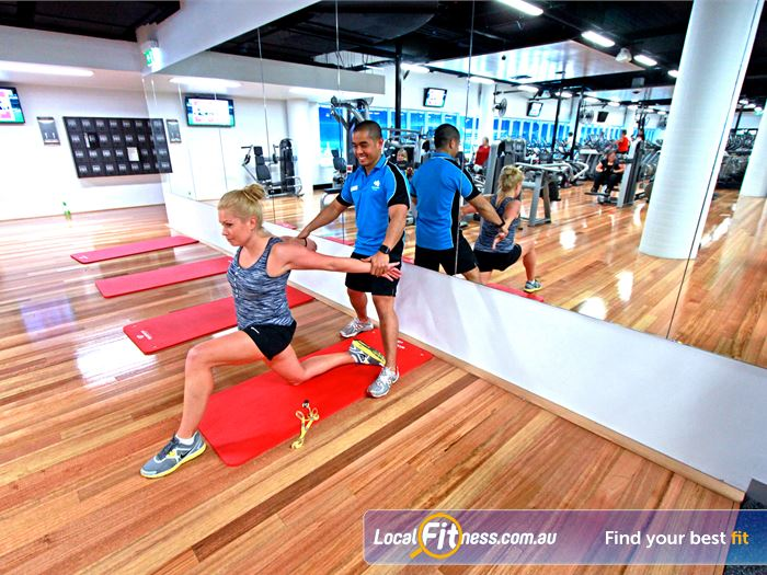 WaterMarc Aquatic & Leisure Centre Greensborough Our stretching zone provides relaxingarea to unwind.