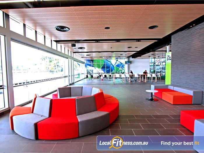 WaterMarc Aquatic & Leisure Centre Greensborough Convenient indoor seating so you can relax in Greensborough's newest community hub.